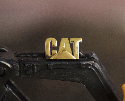 Stick-Pin CAT 750 Gold