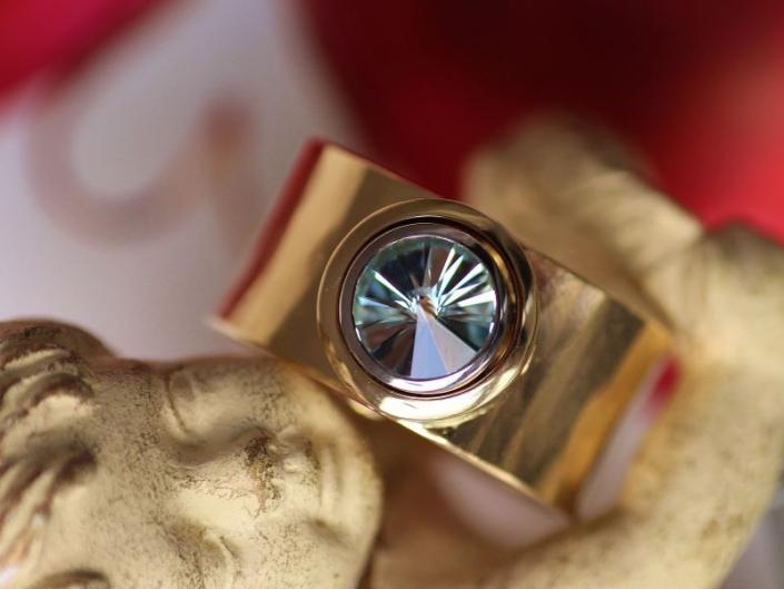 Ring FUER DIE LIEBE Gold Turmalin SPIRIT SUN